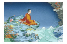 The Perfection: Tibetan Life Card Print, by Kumar Lama