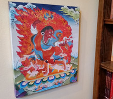 Dorje Drolo Canvas Print