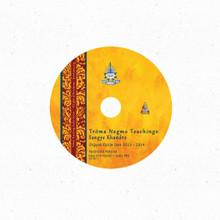 Troma Teachings with Sangye Khandro - 2013 & 2014 Audio DVD