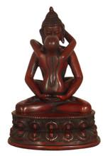 Resin Samantabhadra Yab Yum Statue