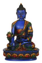 Resin Medicine Buddha Statue