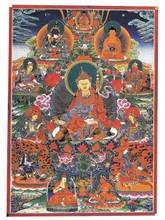 Nepal Deity Card: The Eight Manifestations of Guru Rinpoche