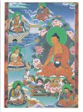 Guru Shakya Senge (8 Manifestations)