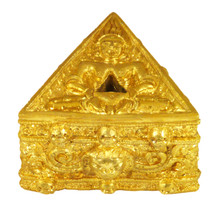 Golden Colored Metal Phurba Stand for Medium and Large Phurbas
