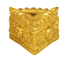 Golden Colored Metal Phurba Stand for Small and Medium Phurbas