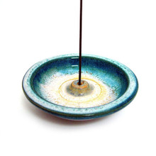 Ocean Blue Incense Holder