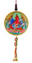 Red Tara Hanging Medallion