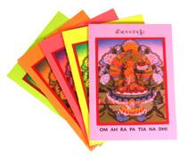 Manjushri Prayer Card by Tulku Jamyang Gyatso Rinpoche