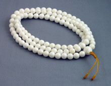 8mm Conch Shell Mala