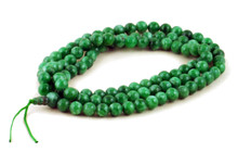 8mm Green Jade Mala