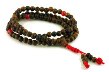 7mm Dark Lotus Seed Mala