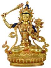 "Manjushri Statue 8.75"""
