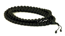 Black onyx mala with 108, size 8mm beads.