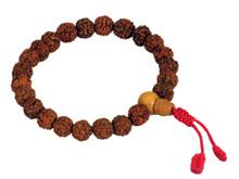 Rudraksha Seed Wrist Mala