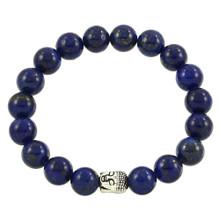 Lapis Lazuli Bracelet with Buddha
