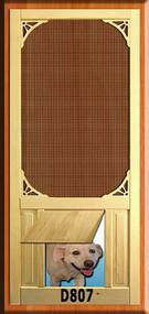 PET WOOD SCREEN DOOR #D807