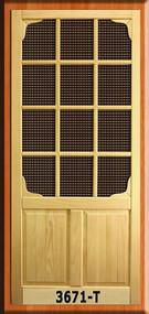 SCREEN DOOR #3671-T