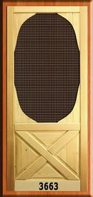 VINTAGE SCREEN DOORS #3663