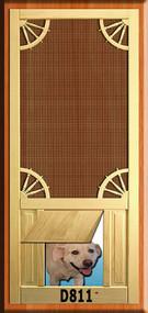 PET WOOD SCREEN DOOR #D811
