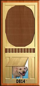 PET WOOD SCREEN DOOR #D814