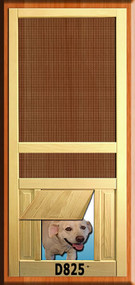 PET WOOD SCREEN DOOR #D825
