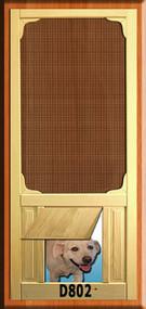 PET WOOD SCREEN DOOR #D802