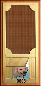 PET WOOD SCREEN DOOR #D803