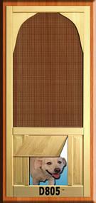 PET WOOD SCREEN DOOR #D805