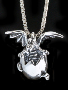 Dragon - Large Hatching Dragon Pendant