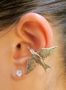 Mocking Jay Ear Cuff - Bronze