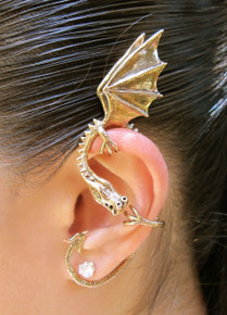 Elfin Dragon Ear Wrap - Bronze