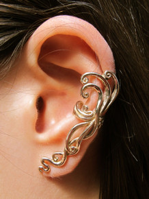 Siren's Song Ear Cuff - Bronze