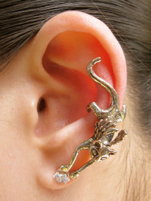 Angel Kitty Ear Cuff - Bronze