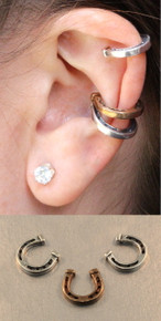 Good Luck Horseshoe Ear Cuff Combo - Save $10.00
