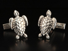 Cuff Links - Sea Turtle Cuff Links