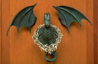 Dragon Door Knocker - Bronze