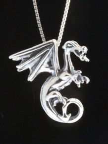 Dragon - Fire Dragon Pendant