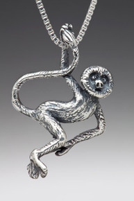 Rainforest Spider Monkey Charm