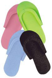 Pedi Slippers - assorted colors (1 dozen)