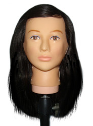 "6-16"" Slip-On Hair for Hard Head"