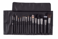 Bodyography 16 pc Brush Roll Set