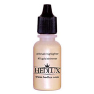 Hedlux Water-Based Airbrush Highlighter - #5 Gold Shimmer - ABS5G