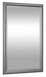 "30"" X 48"" Antique Silver Framed Mirror"