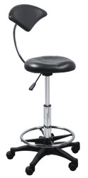 Black Color Bar Stool w/Back* B