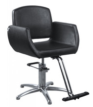 Styling Chair 5 Star Chrome Base