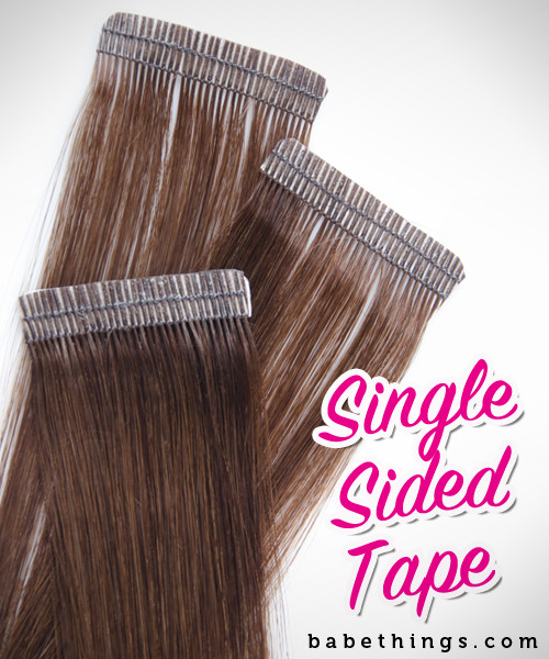 babe hair extensions single sided tape hedlux. Black Bedroom Furniture Sets. Home Design Ideas