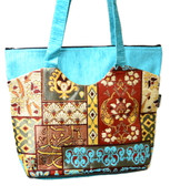 Turkish Velvet Handbag-9
