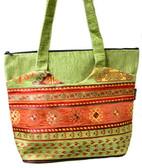 Turkish Velvet Handbag-24