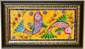 Hand Painted Turkish Ceramic Tile-#8