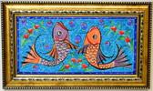 Hand Painted Turkish Ceramic Tile-#9